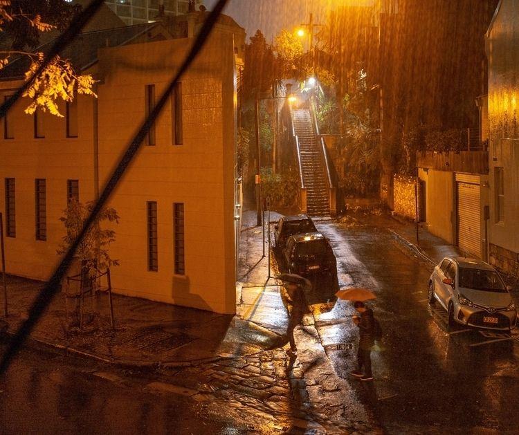 Stairs rain - Sydney, rainstorm - josim1100   ello