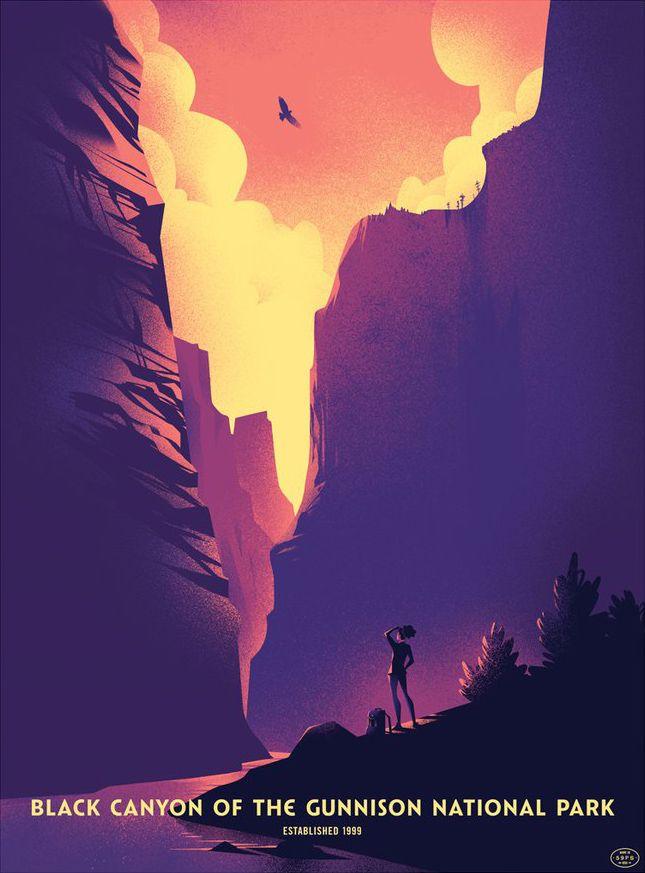 'Black Canyon Gunnison National - geekynerfherder   ello