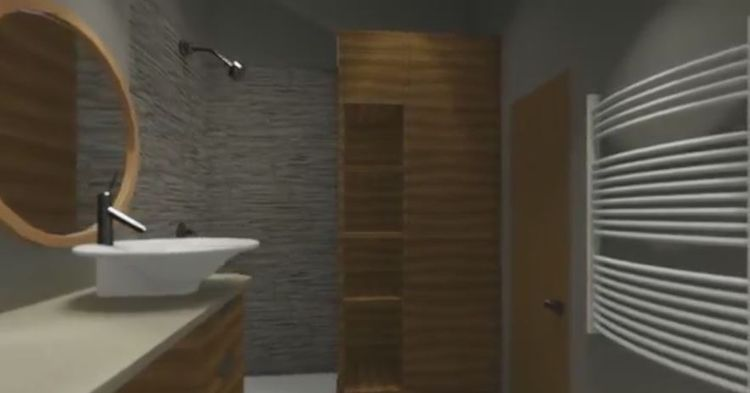Bathroom tour. Model Allplan sk - otmbeta | ello