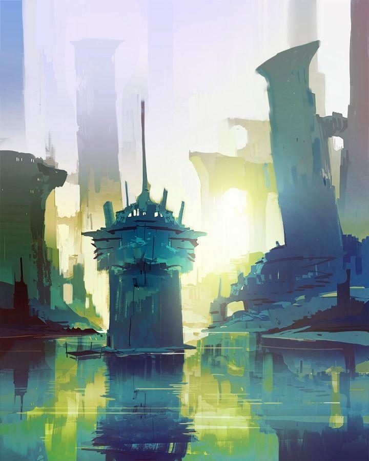 Sunken cities slipping - cosimo   ello