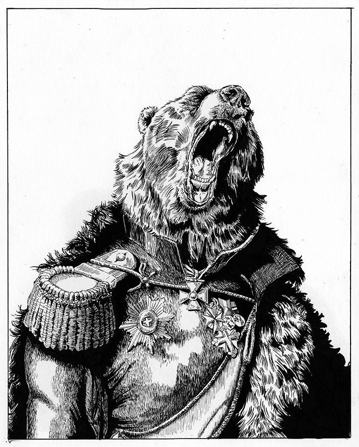 triptych General-mayor Medved  - davidrclarke | ello