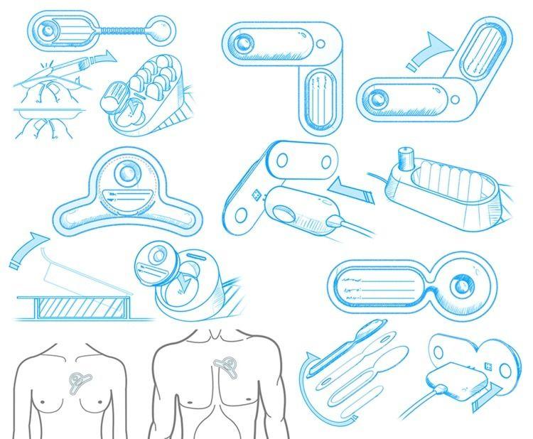 Cardea SOLO ECG smart patch con - jamesowendesign | ello
