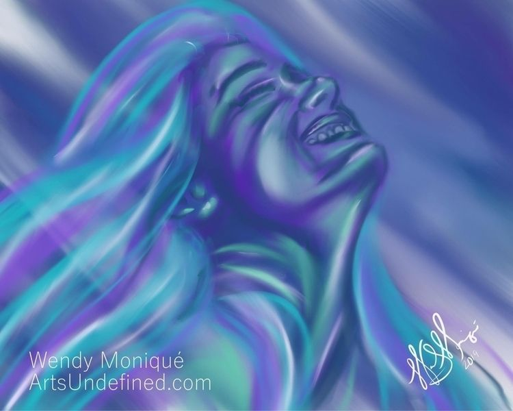 Daily Doodle - Ocean Lady daugh - artsundefined | ello