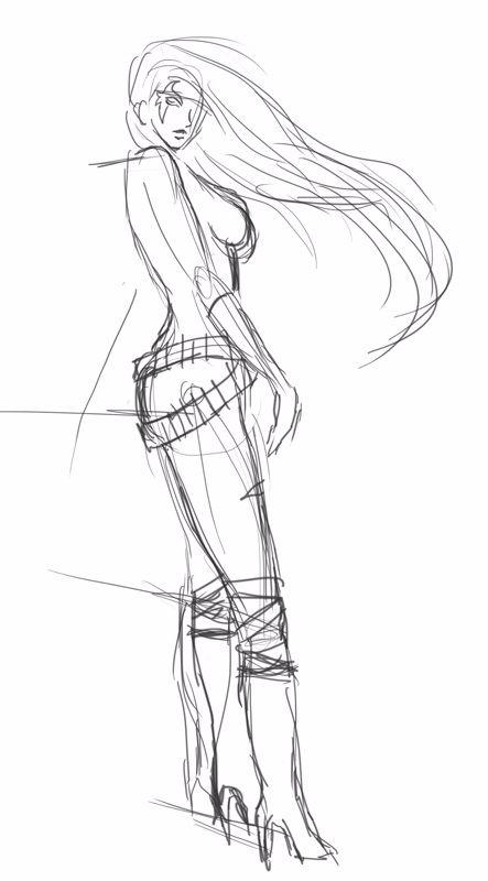 quick sketch. 19-1-18 - drawing - fasslayer   ello