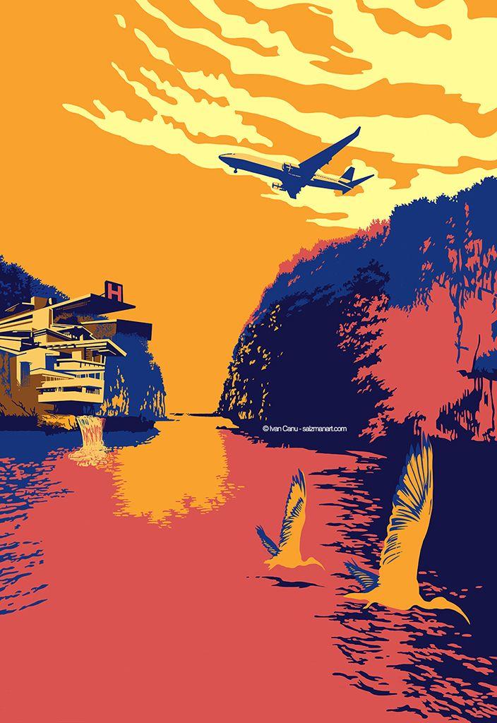Cover internal illustration Ben - canuivan | ello