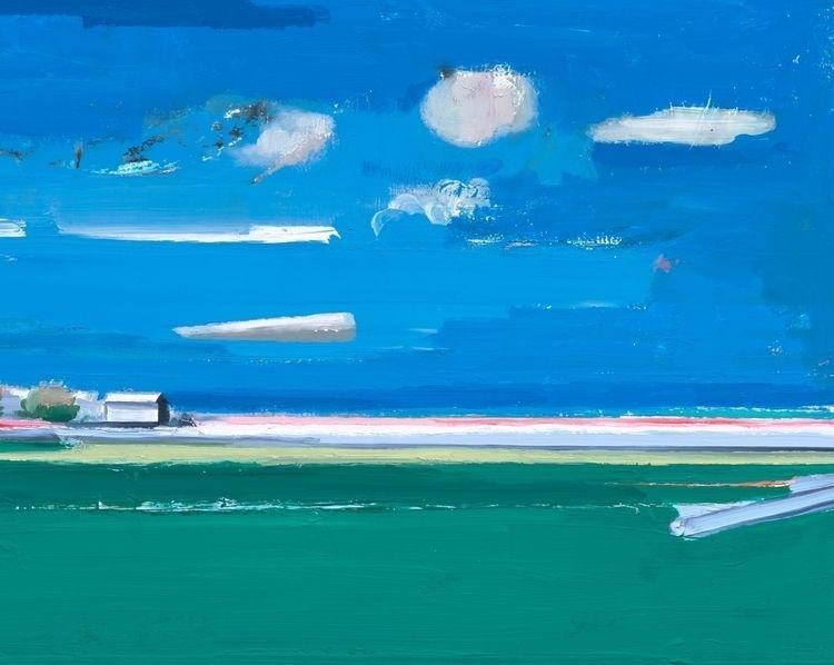 Albert Zwaan paints urban lands - albertzwaan | ello