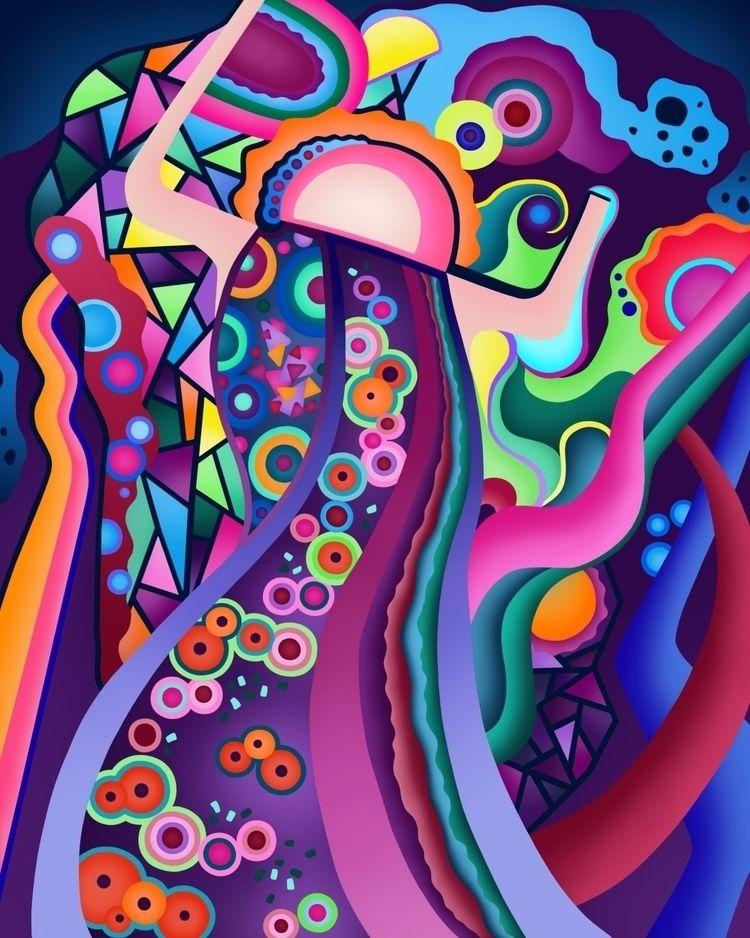 Maiden Variation Digital Painti - czerednikow | ello