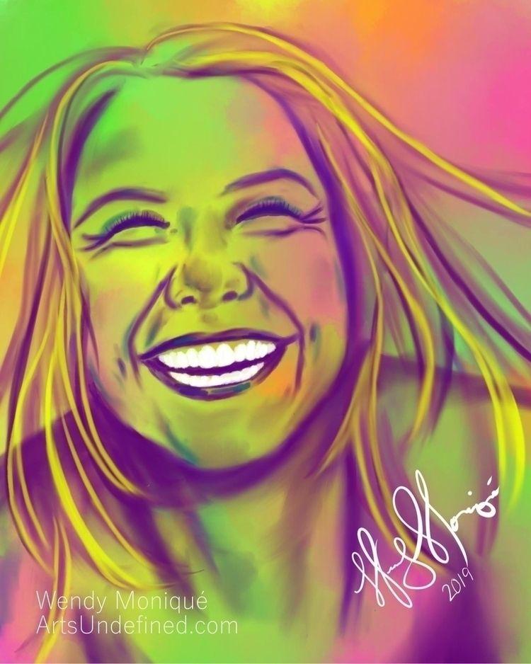 Doodle - Vibrant Laughter (Seri - artsundefined | ello