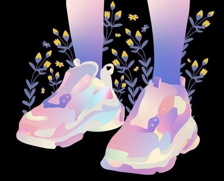 ello, elloart, artist, sneakers - tchangtchang | ello