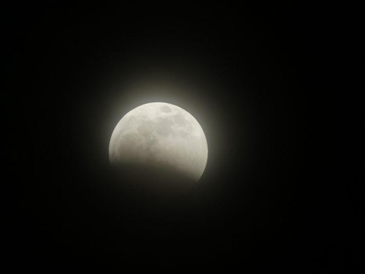 Sharing eclipse shot. cloudy ra - tehranchik | ello