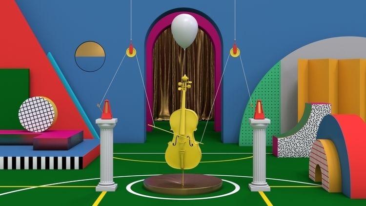 Sound Design 4 - 3d, 3dart, art - svenwindszus | ello
