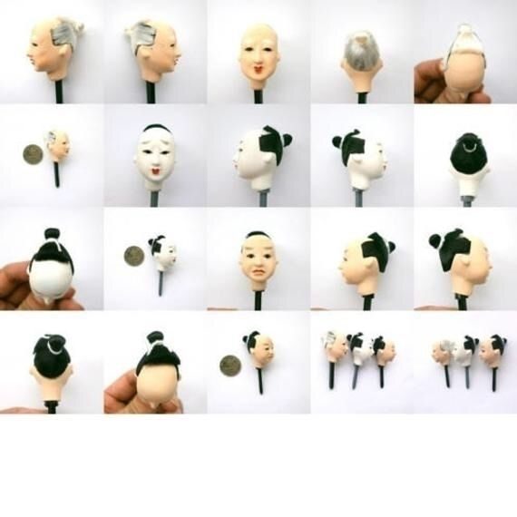Doll Heads fromjapanwithlove.et - futoshijapanese | ello