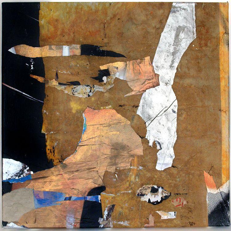 Drift Collage canvas - collage, intertextuality - fullom | ello