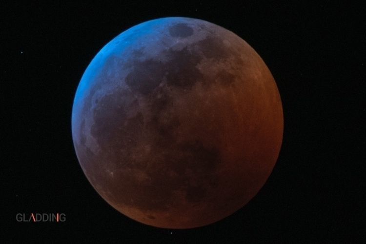 lunareclipse, moon, superbloodwolfmoon - slug68 | ello