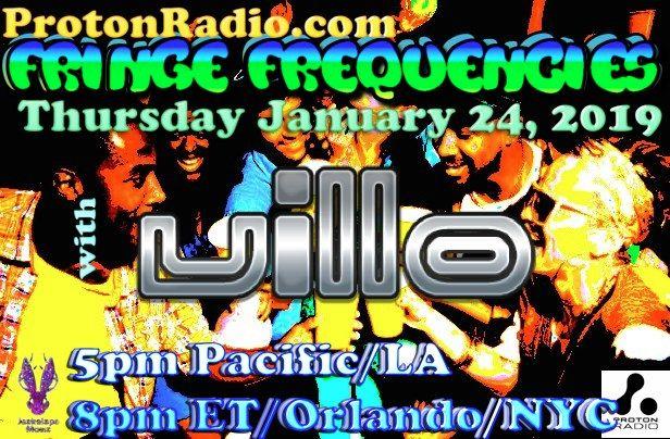 Fringe Frequencies ViLLO. THURS - villo | ello