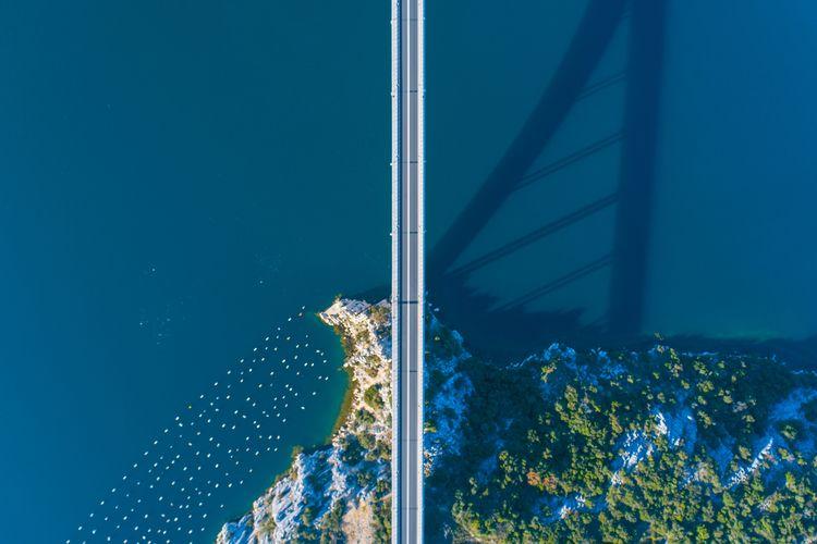 Sibenik | Croatia - bridge,, aerialphotography - _manu | ello