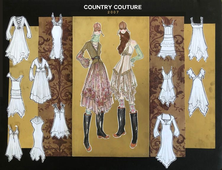 COUNTRY COUTURE 2007 collection - michibroussard | ello