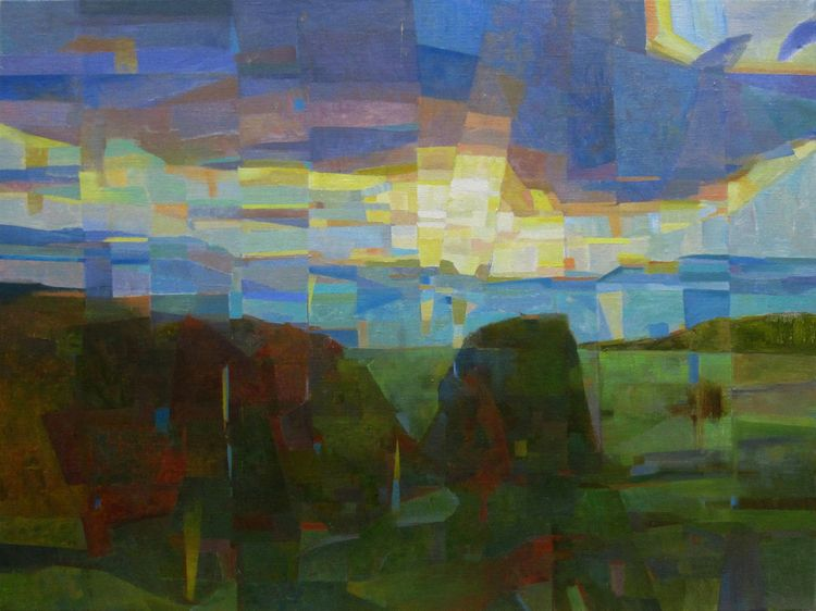 Oil painting hill Submitted Ell - szvit | ello