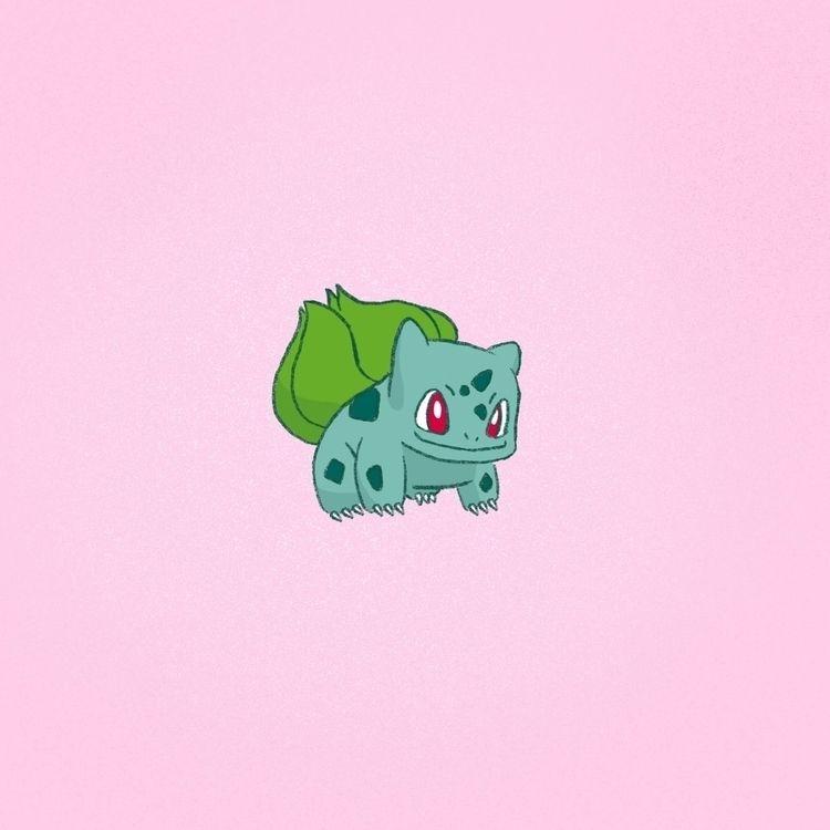 bulbasaur // friend asked draw  - evandsears | ello