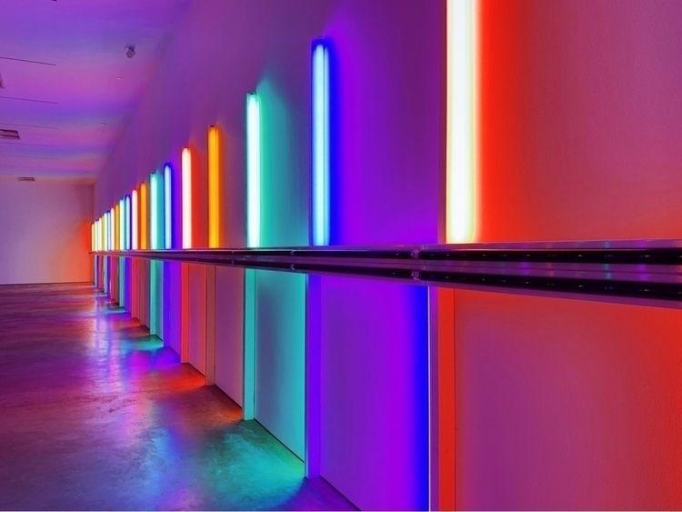 Dan flavin - houston, neon, art - fuck_nihilism | ello