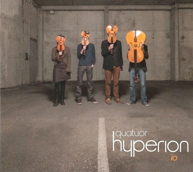 2013 Premier album / CD: iO tit - hyperionquatuor   ello