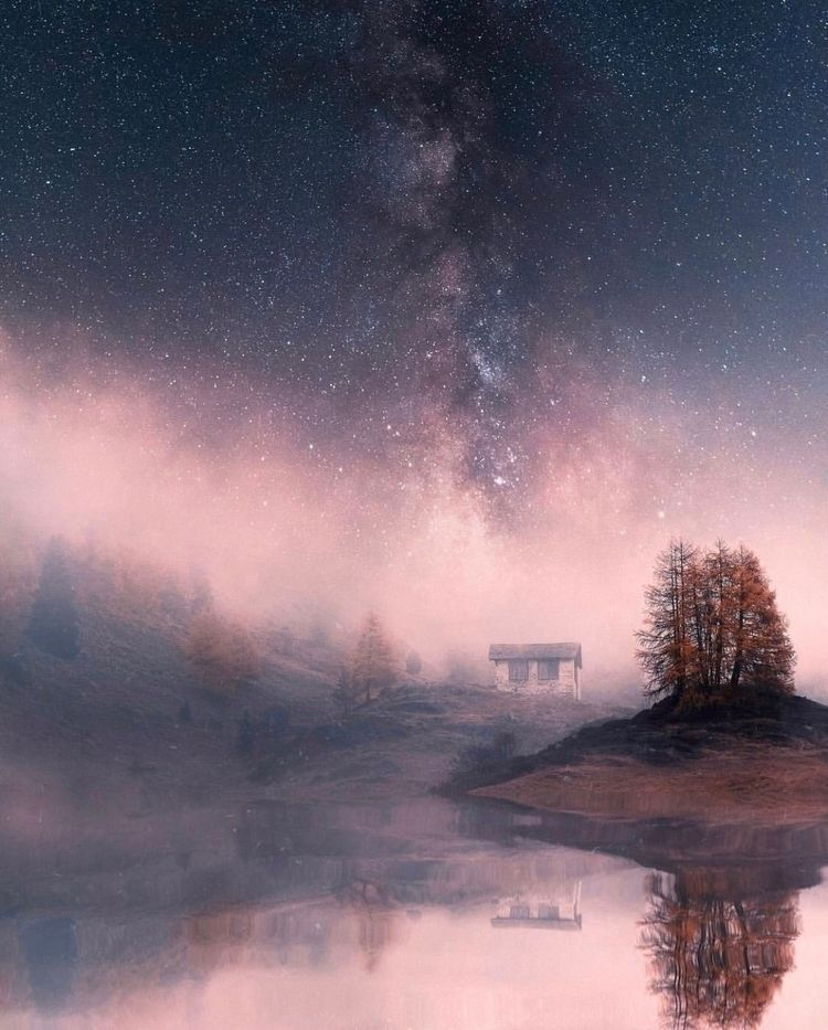 inspires nature?  - landscape, stars - nick_asphodel | ello