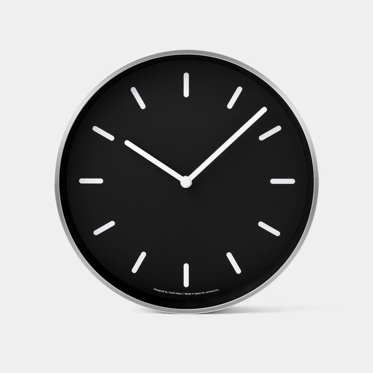 classic Mono Wall Clock clear b - minimalissimo | ello
