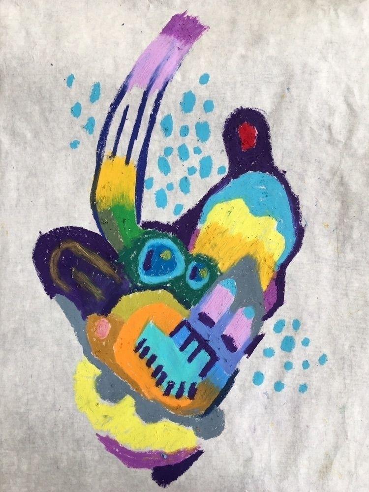 Untitled - art, painting, abstraction - bilchamberlin | ello