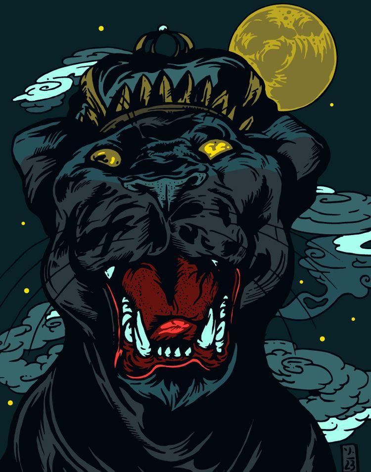 Midnight King - thomcat23 | ello