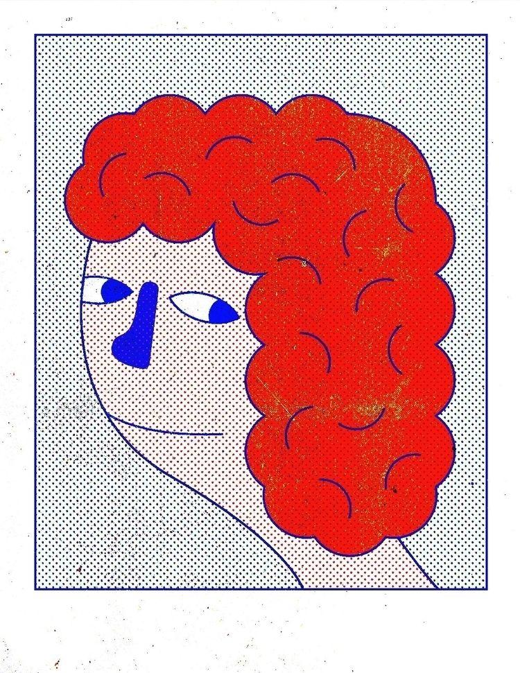 Side Eye - character, digital, illustration - juliangese | ello