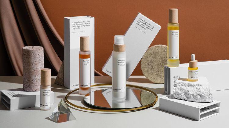Visual identity skincare brand  - northeastco | ello