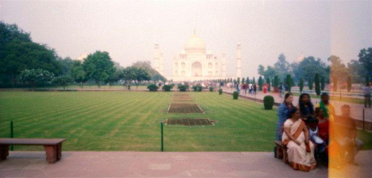 bench ...Taj Mahal, Agra. Image - peterdegraaff | ello