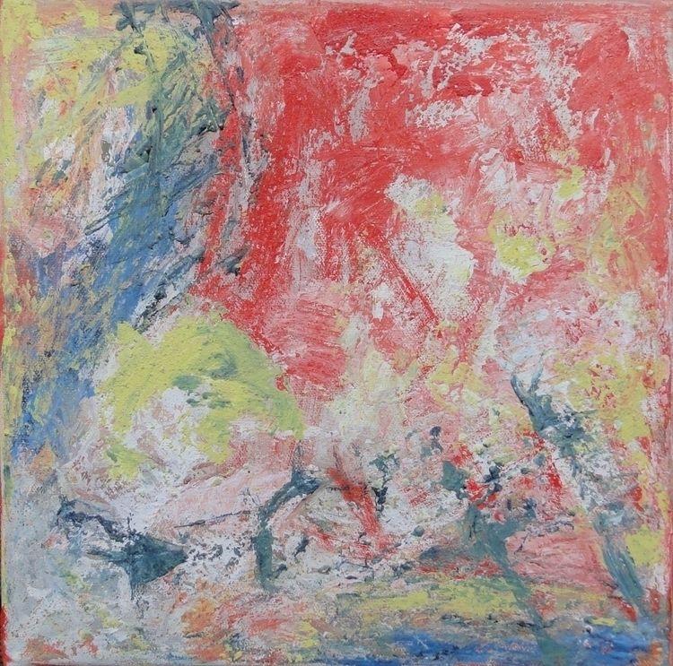 30 - acryliconcanvas, abstract, Spachteltechnik - gruenundkunst | ello
