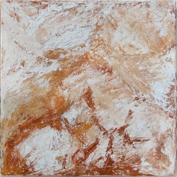 30 - acryliconcanvas, abstract, earthcolours - gruenundkunst | ello