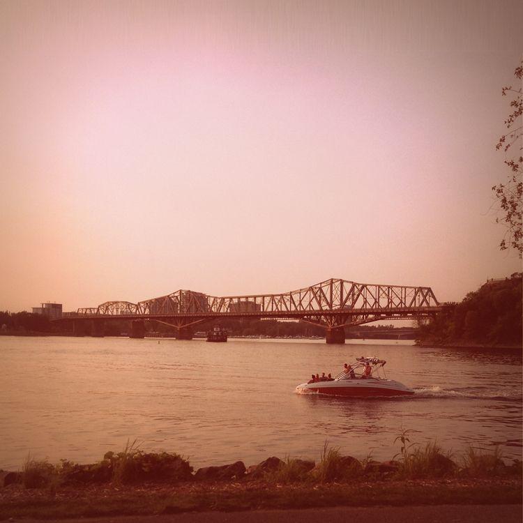 Hedonists (2017 - photo, river, bridge - dispel | ello