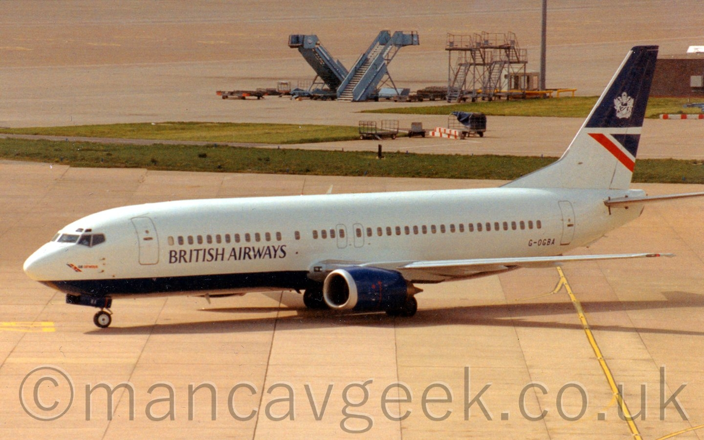 Boeing 737-4S3, GB Airways, ope - mancavgeek | ello