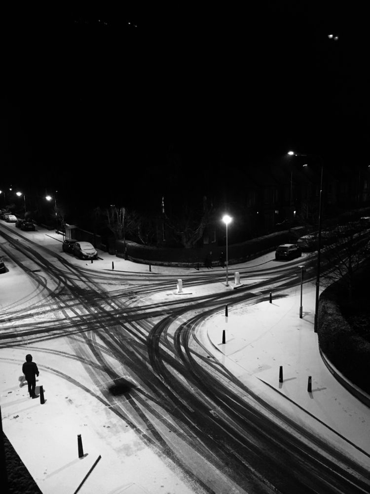 Drawings - snow, blackandwhite - gregsted | ello