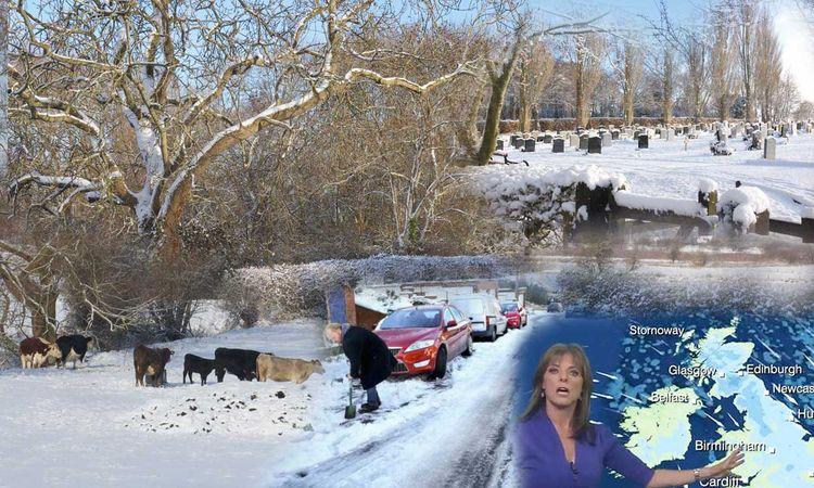 UK Meltdown Snow Falls Continue - thefreedomcycle | ello