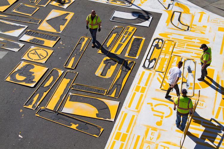work crosswalks City Lancaster  - theartofchase | ello