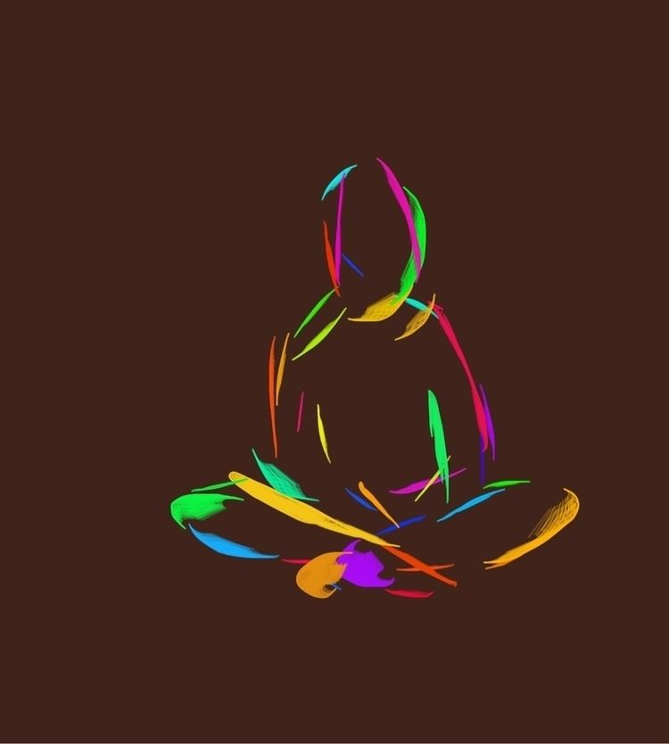 Meditation. Kids Doodle - digitalart - james | ello