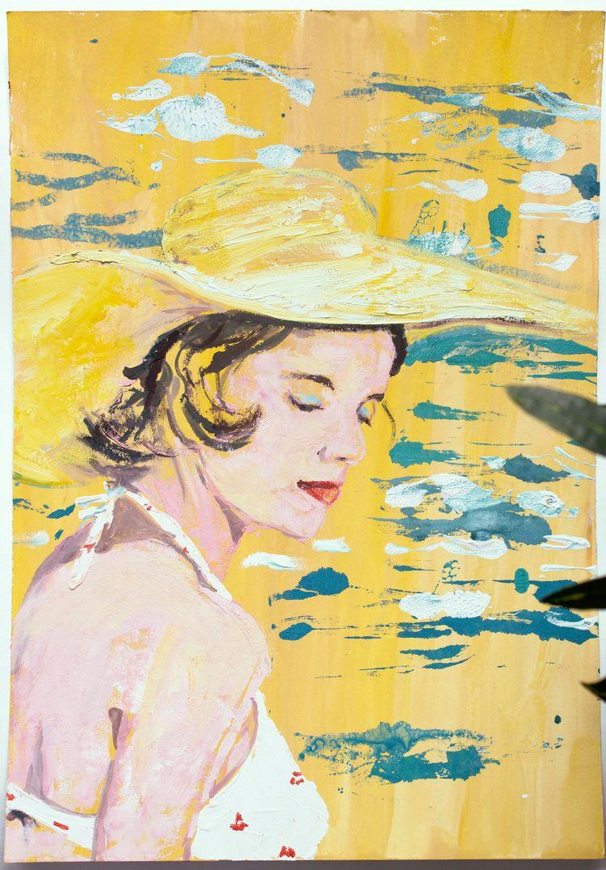 Ischia, original artwork, gouac - nekotangerine | ello