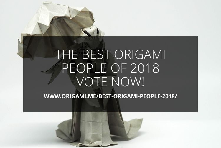 Origami People 2018 - Vote - origami - origamidotme | ello