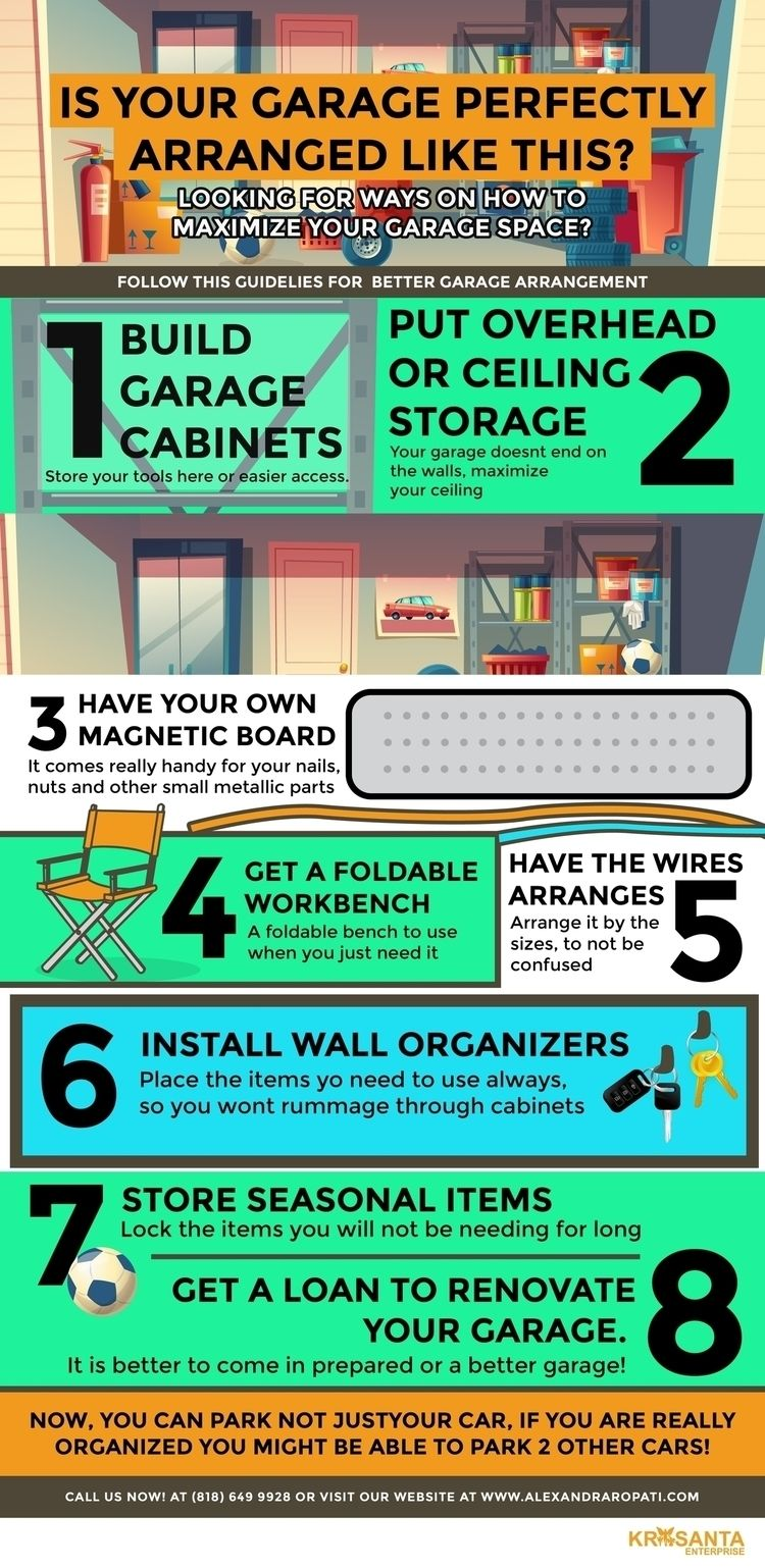 ways maximize garage space! Vis - jmwoodhr | ello