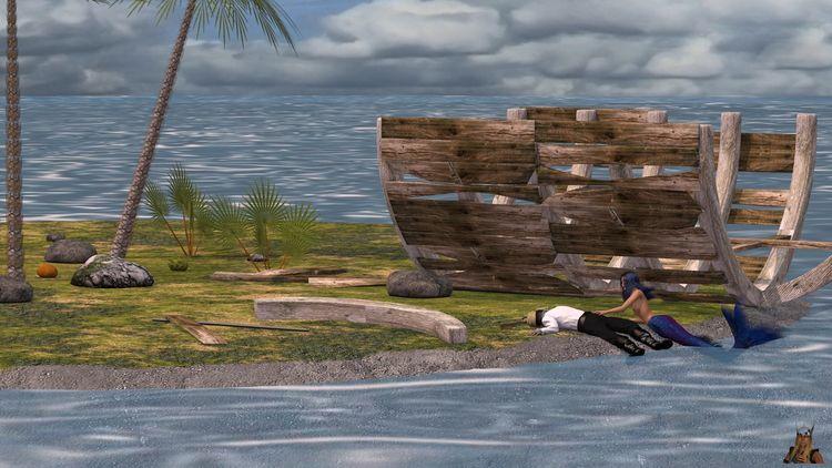 Shipwreck island 01 (01-05/32 - 3d - thor3d | ello