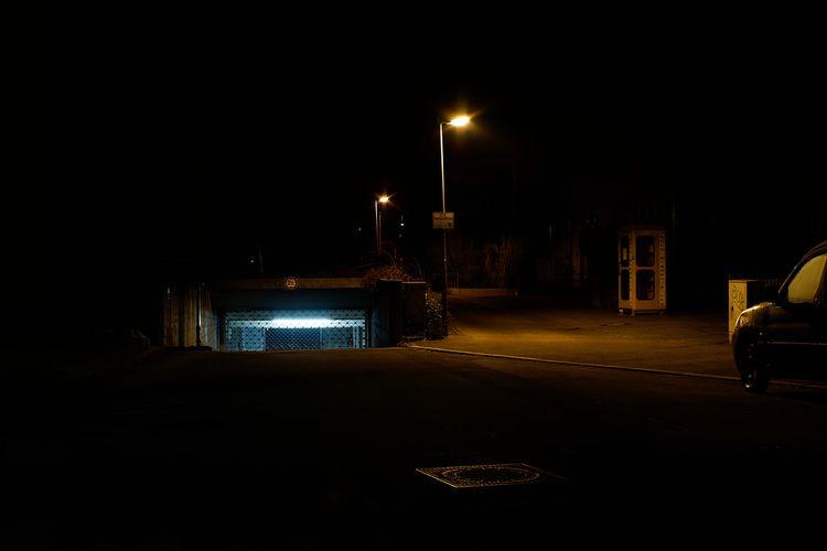photography, night, street, rambunctiousmelancholy - marcushammerschmitt | ello