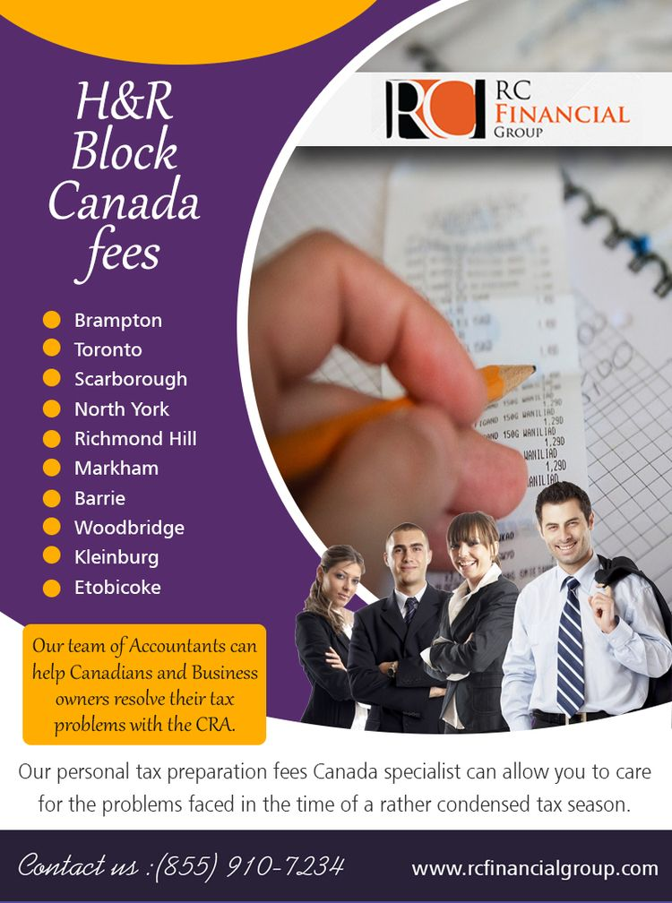 HR Block Canada Fees talk Tax E - etobicokeaccount | ello