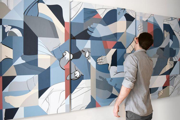 Work progress painting - ericpause | ello