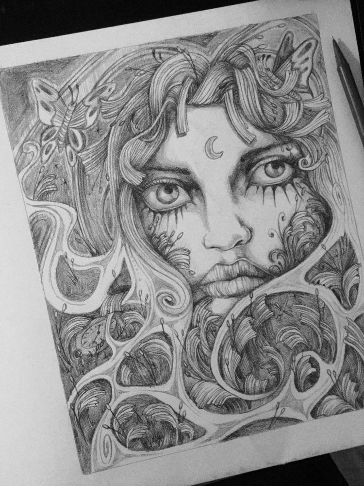 4 years drew - art, drawing, expressive - jordansummers | ello