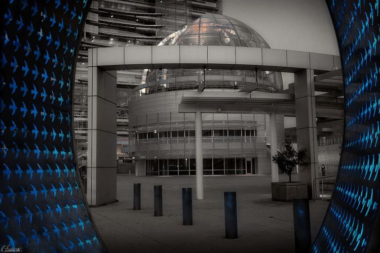 framed... (San Jose, city hall  - abstractcolorism | ello