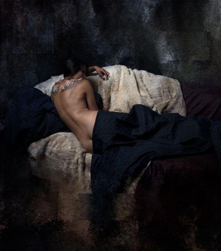 """Clair de Lune"" – Photographer - darkbeautymag   ello"